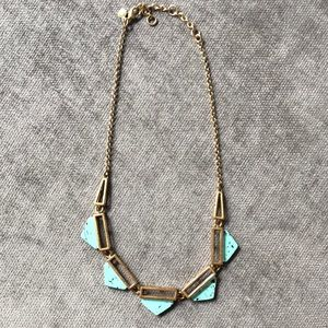 J.Crew Turquoise Statement Necklace